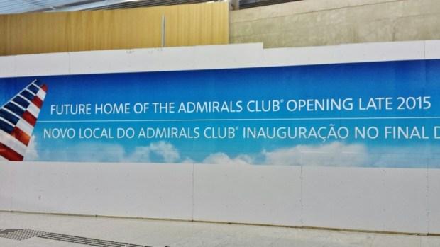 Sao Paulo Admirals Club Lounge Sep 2015