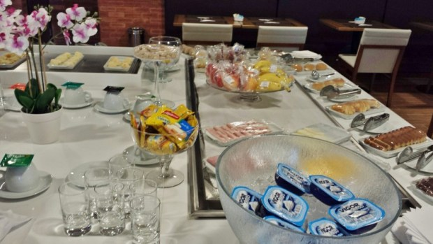 Tryp Wyndham GRU Airport Hotel cold breakfast options