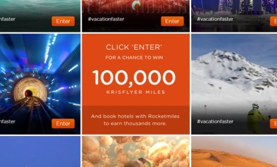 rocketmiles 100K singapore miles giveaway
