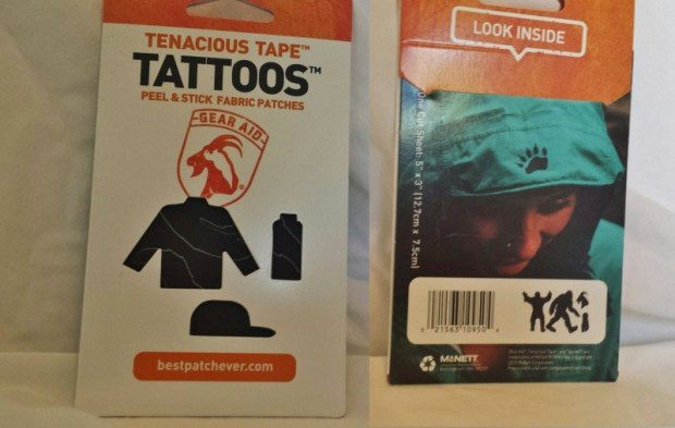 Cairn box review October gear aid tattoos