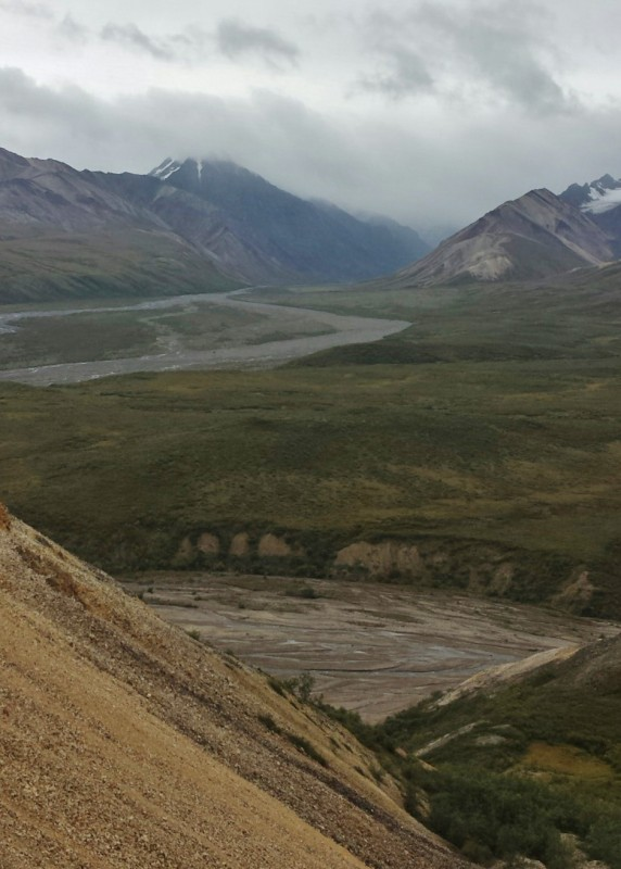 Denali National Park Katishna Experience Bus Tour Painted Mountain road