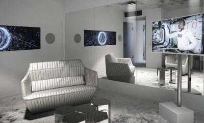 Kameha Grand Zurich hotel space suite