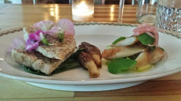 Thistle McMinnville Restaurants sturgen grilled pickled