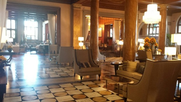 Westin Excelsior Florence hotels lobby