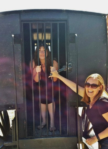 Wyoming Territorial Prison jail wagon Keri