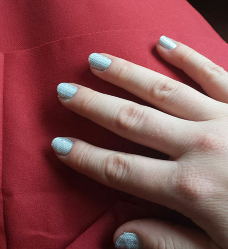 It's A Wrap! Try This Perfect Manicure The Next Time You
