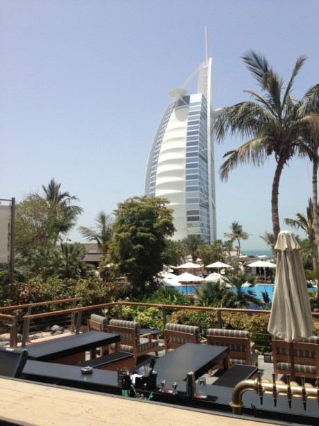 Burj Al Arab from a distance
