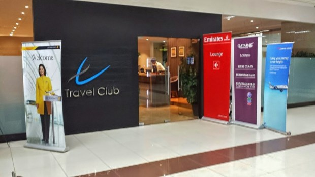 Chennai Airport Lounge Travel Club Entrance