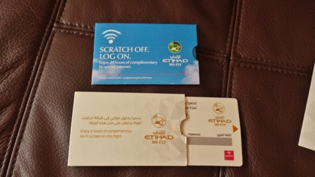 Etihad A380 First Apartment JFK-AUH inaugural free wifi