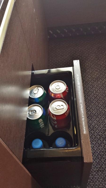 Non-alcoholic minibar