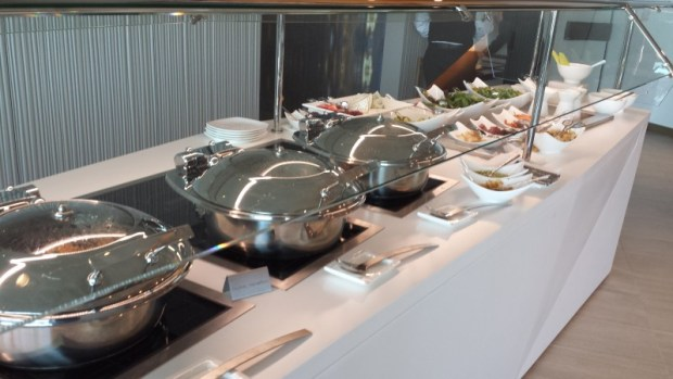 Etihad lounge jfk opening buffet