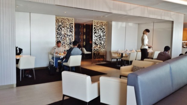 Etihad lounge jfk opening dining area