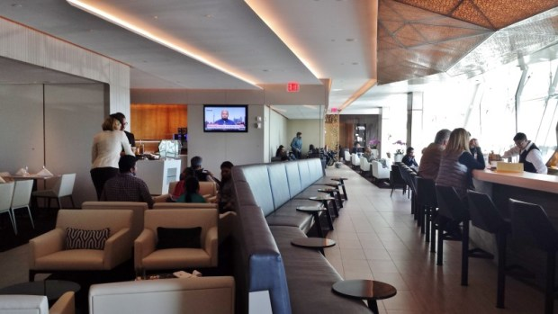 Etihad lounge jfk opening layout