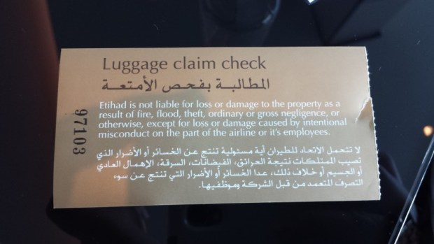 Etihad lounge jfk opening luggage check