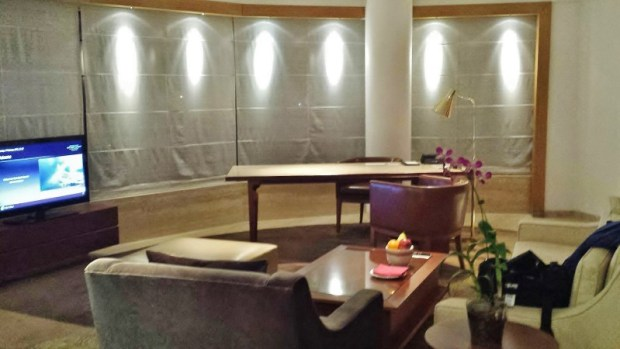 Park Hyatt Chennai Hotels Park Executive Suite living room view