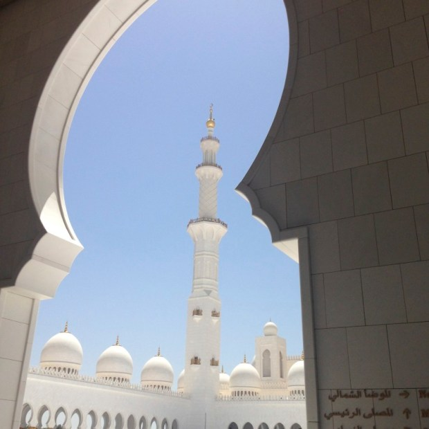 Sheikh Zayed Mosque minaret