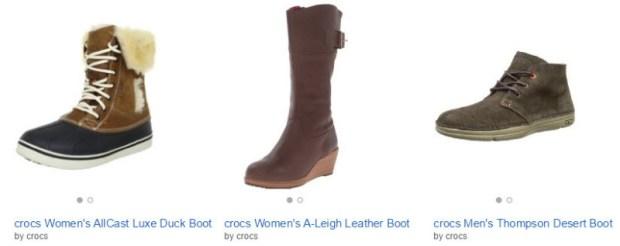 sale crocs cold weather boots