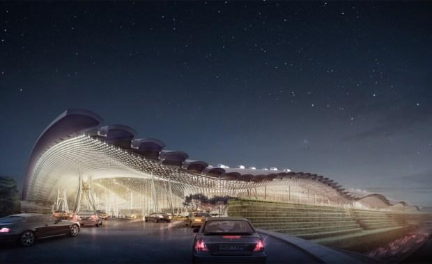 taipai airport terminal 3