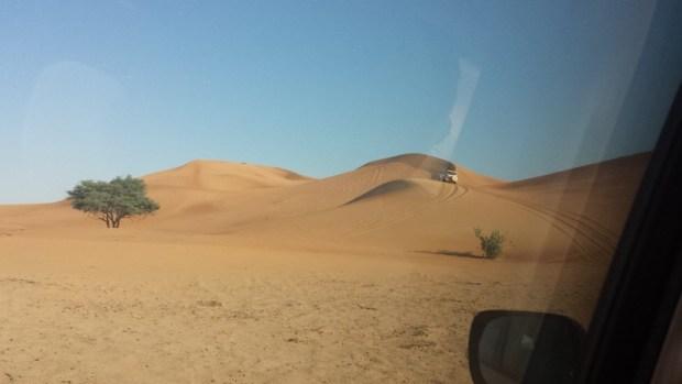 Al maha desert resort dune bashing big dunes