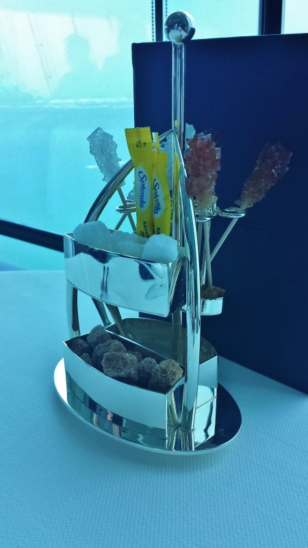 Burj Al Arab afternoon tea Skyview Bar rock candy stirrers