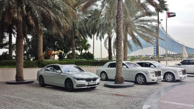Burj Al Arab hotel rolls