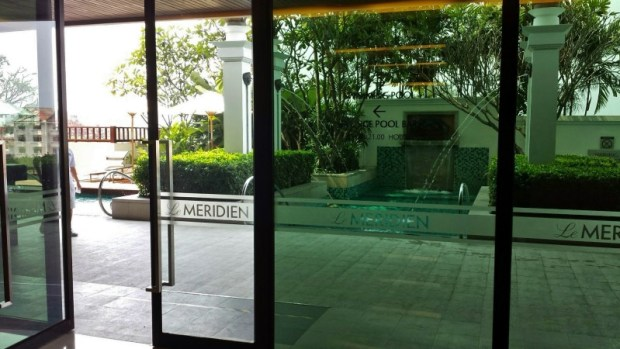 Le meridien chiang mai executive suite pool
