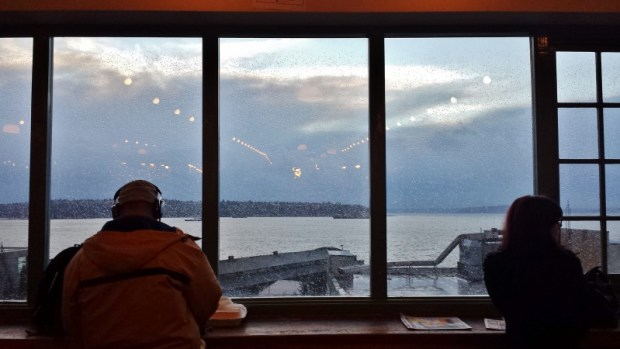 Pike Place Market December view