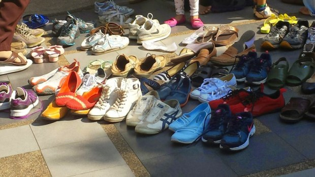 Wat Phra That Doi Suthep shoes