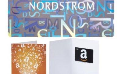 amazon nordstrom gift card bonus