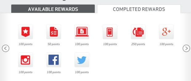 my verizon rewards points earning