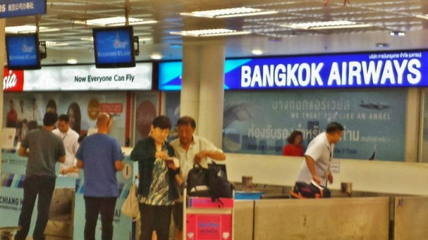 Bangkok Airways Check In Chiang Mai Airport