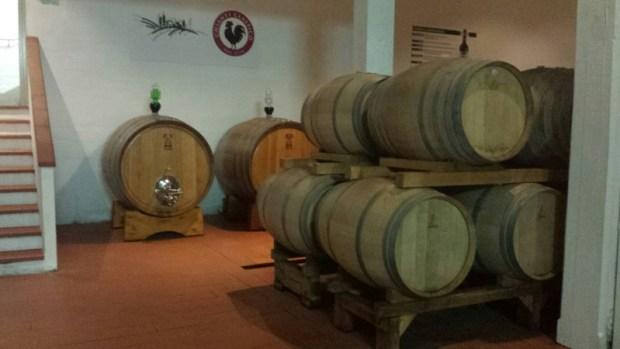 Casa Emma Chianti Tuscany cellar