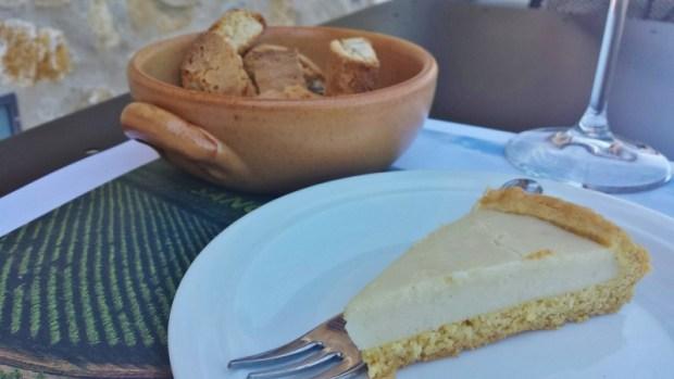 Casa Emma Chianti Tuscany lemon tart