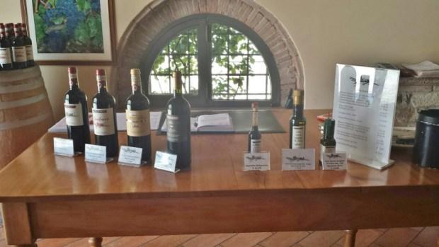 Casa Emma Chianti Tuscany wine olive oil