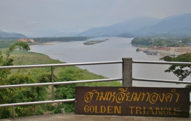 Chiang Rai Golden Triangle Tour sign