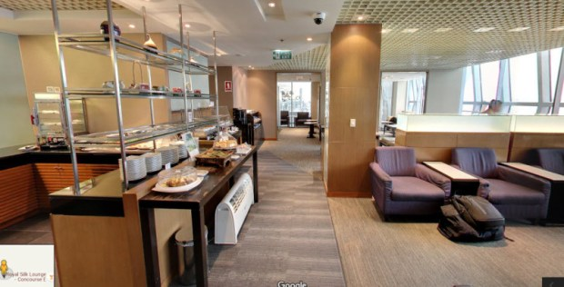 Thai Airways Royal Orchid Lounge C Street View