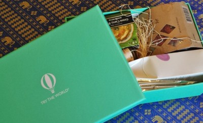 Try the World Food Subscription Box Thailand Box