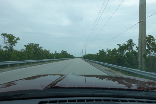 miami to key largo card sound road