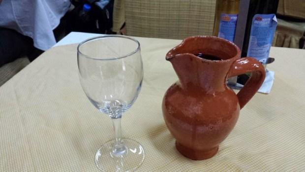 O Santos Portuguese Restaurant Macau house wine