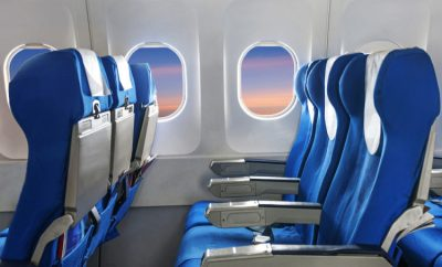 Airplane economy seats