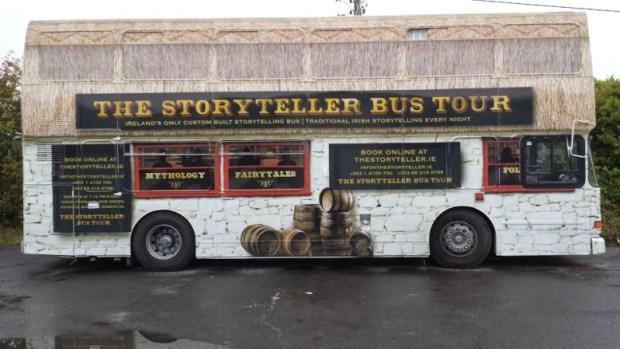 dublin tours story-teller-bus