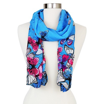 target butterfly scarf