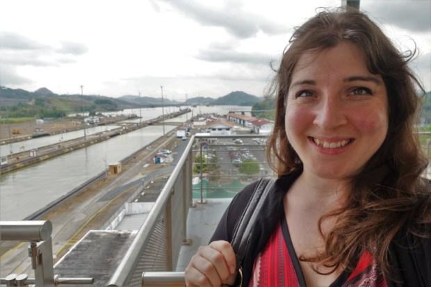 Keri Panama Canal top viewing deck