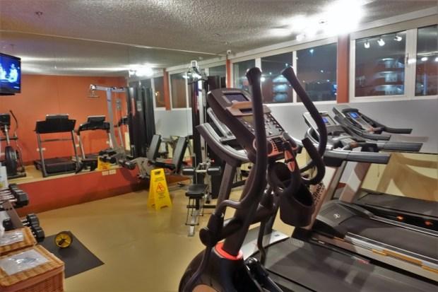 San Juan Airport Hotel Review gym