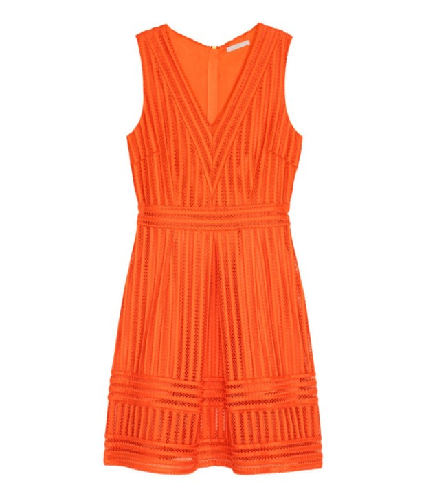 h&m sleeveless dress with pockets