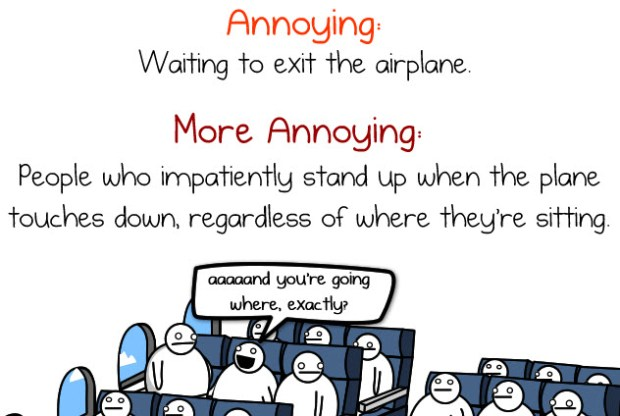 the oatmeal annoying things on plane