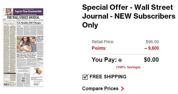 verizon smart rewards wall street journal subscription