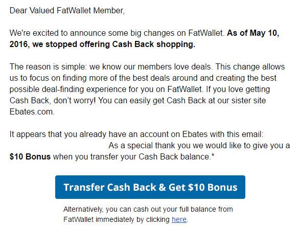 Fatwallet ebates balance transfer bonus