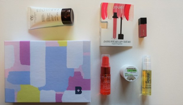 May Birchbox Review contents
