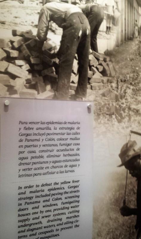 Miraflores Locks Panama Canal museum exhibit
